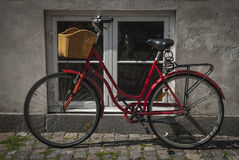 Bicycle  by window Royalty Free Stock Photo