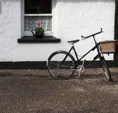 Bicycle With Window In Ireland Stock Images