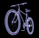 Bicycle. The X-ray render Royalty Free Stock Images