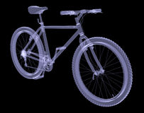 Bicycle. The X-ray render Royalty Free Stock Photography