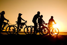 Bicycler Stock Photo