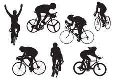 bicycles вектор испытания illu стоковая фотография rf