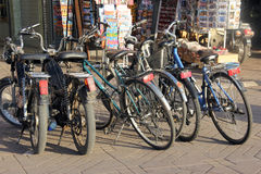 Bicycles Stock Images