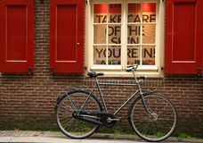 Bicycles in Amsterdam Royalty Free Stock Photography
