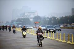 Bicycles in Beijing Stock Images
