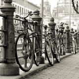 bicycles in Berlin Royalty Free Stock Photography