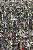 Bicycles in Delft Stock Photos