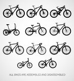 Bicycles. Royalty Free Stock Photo
