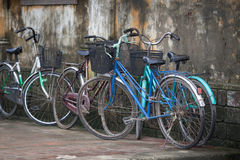 Bicycles Hoi An, Vietnam stock images