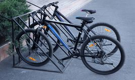 Free Bicycles In Parking Lots Royalty Free Stock Image - 111355326