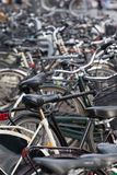 Bike metal Stock Image