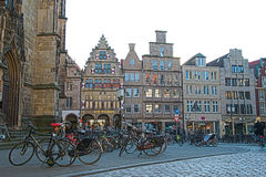 Bicycles in Munster Stock Images