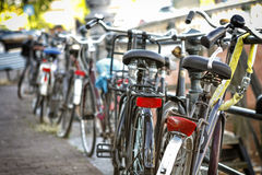 Bicycles Parked Royalty Free Stock Image