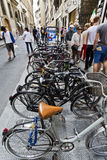 Bicycles Parking Royalty Free Stock Image