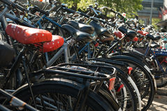 Bicycles Parking Stock Images