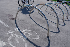 Only for bicycles and pedestrians Royalty Free Stock Photography