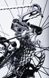 Bicycles Rear Gear Changing System Stock Photography