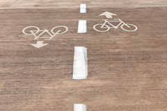For bicycles Stock Images