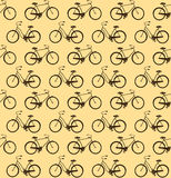 Bicycles seamless Stock Photos
