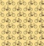 Bicycles seamless Stock Photos