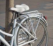 Bicycles tied Royalty Free Stock Photo