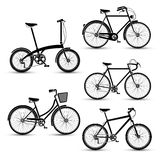 Bicycles vector Stock Photo