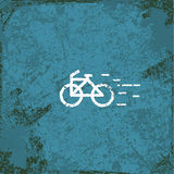 Bicycles vintage abstract grunge background Royalty Free Stock Photo