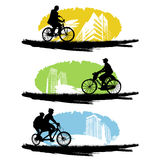 Bicyclette illustration libre de droits