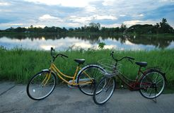Bicyclette Photo stock