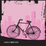 Bicyclette illustration de vecteur