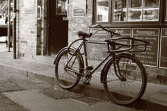 Bicyclette antique Image stock
