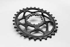Bicyclette chainring Image stock
