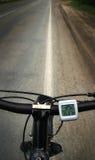 Bicyclette courante Photo libre de droits