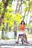 Bicyclette d'équitation Images libres de droits