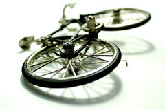 Bicyclette d'accidents photos stock
