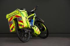 Bicyclette d'ambulance Photographie stock libre de droits