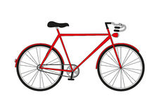 Bicyclette d'illustration Photographie stock libre de droits