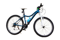 Bicyclette d'isolement Photographie stock libre de droits