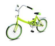 Bicyclette d'isolement sur le fond blanc illustration libre de droits