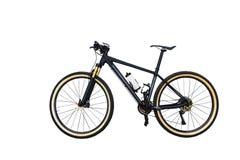 Bicyclette de montagne d'isolement sur le fond blanc Photo stock