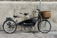 Bicyclette de tandem de vintage Photographie stock