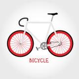 Bicyclette de vecteur Photo stock
