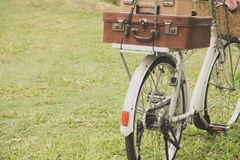 Bicyclette de vintage Photo libre de droits