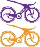 Bicyclette de voie Photos libres de droits