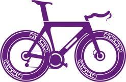 Bicyclette de voie Images stock
