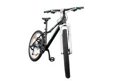 Bicyclette femelle Photo stock
