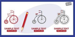 Bicyclette rétro Photo libre de droits