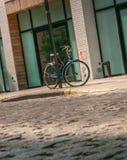 Bicyclette verrouillée Photos libres de droits