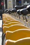 Bicyclettes à louer image libre de droits