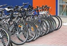 Bicyclettes Photo libre de droits